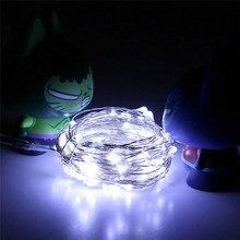 2M 20LED κουμπί κυττάρων Κινητό ασημένιο καλώδιο χαλκού Mini Fairy String Lights Επαγγελματική τιμή εργοστασίου Drop Shipping
