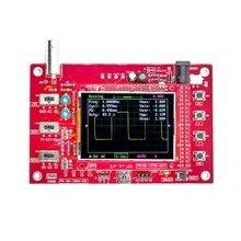 "DSO FNIRSI 138 2.4 ""TFT بحجم الجيب ملتقط الذبذبات الرقمي عدة لتقوم بها بنفسك أجزاء يده + P6100 راسم الذبذبات"