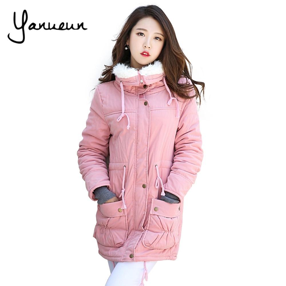 ᑎ‰Yanueun Korean Fashion New 2017 √ Winter Winter Jacket ...