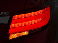 Free Shipping New Style Toyota Vios 2013 Up Led Rear Lights Led Tail Lights Led