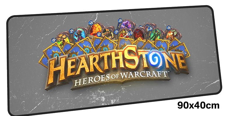 HearthStone mousepad gamer 900x400X3MM gaming mouse pads Christmas gifts notebook pc accessories laptop padmouse ergonomic mat
