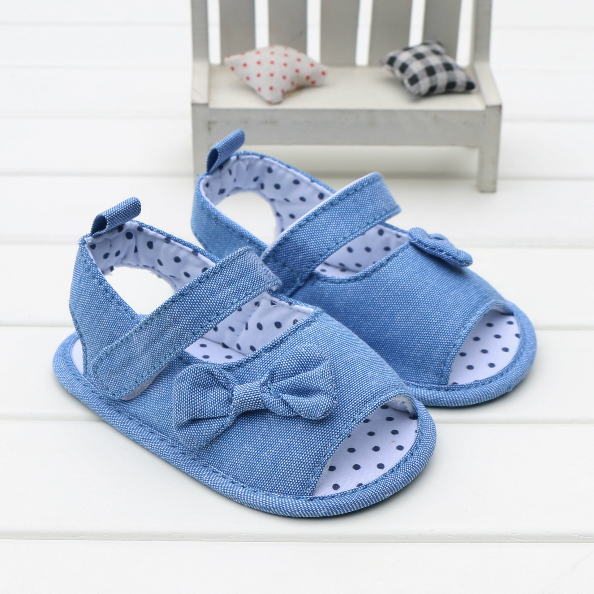2018 New Baby Girls Summer Shoes Soft Bottom Non-slip Indoor Slippers Infant Toddler Shoes