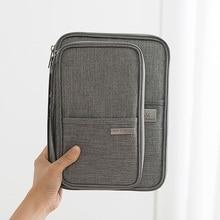 2019 Waterproof Passport Holder Travel Wallet Big Credit Card Wallets Organizer Accessories Document Bag Cardholder