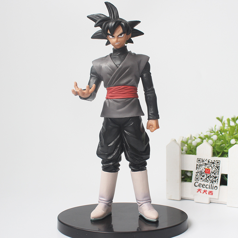 Anime Dragon Ball Super Goku Black PVC Action Figure Zamasu vol.2 Collection Model Doll Toys 20CM how to train your dragon 2 dragon toothless night fury action figure pvc doll 4 styles 25 37cm free shipping retail