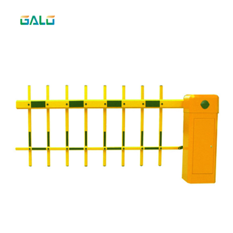 Aluminum Double Fence Automatic Parking Barrier Gate Opener
