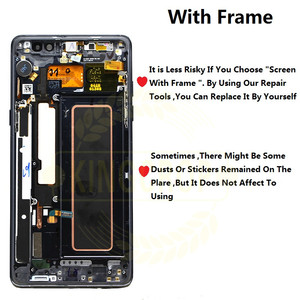 Image 3 - Super AMOLED For Samsung Note Fan Edition FE Note 7 N930F N935F LCD display touch screen digitizer AssemblyFor Samsung Note7 LCD