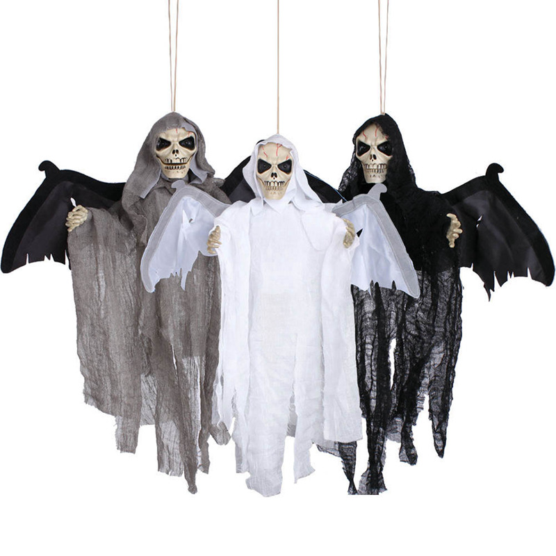 Animated Flying Hanging Ghost Scary Sound And Moving For
