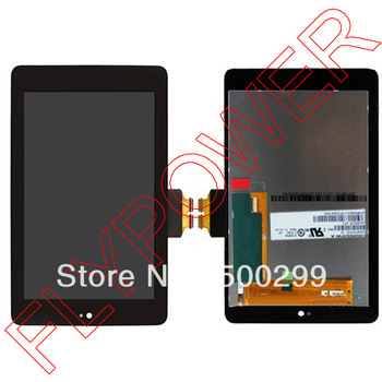 For ASUS Google Nexus 7 LCD Screen Display with Touch Screen digitizer Assembly by free DHL, UPS o EMS:100% Original; 5pcs/lot