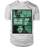 Breaking Bad Vs Big Bang Theory Vs Game Of Thrones Funny Joke Knows T Shirt