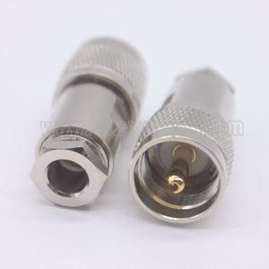 Прямой зажим для коаксиального кабеля RG5, 50-5, 5D-FB, LMR300