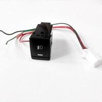 Туман света DRL радар LED нагреватель размораживания переключатель для Nissan Tiida Sylphy sentra X-Trail T32 X Trail rogue Altima Teana
