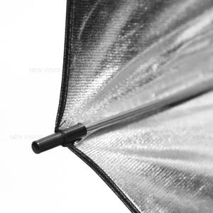 """Image 5 - 2 sztuk Godox 43 """"108 cm reflektor parasol studio fotograficzne lampa błyskowa światło drobnoziarnisty czarny srebrny parasol"""
