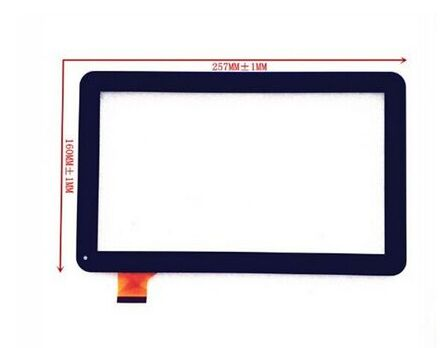 Free Shipping 10.1 inch Touch Screen 100% New for SUPRA M12CG 3G Touch Panel Tablet PC Touch Panel Digitizer цена