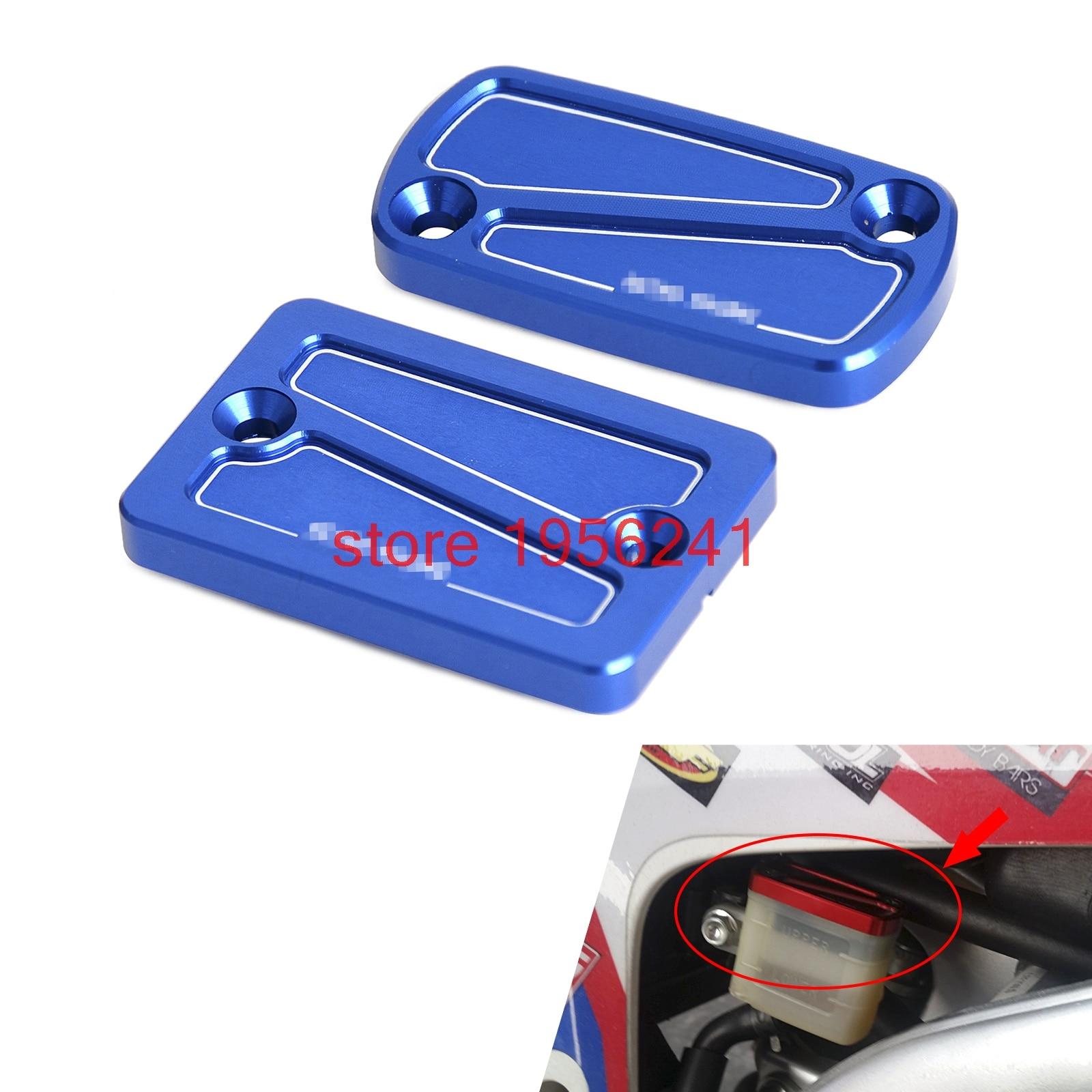 CNC Front & Rear Brake Reservoir Fluid Cover Cap For Honda CRF250L CRF250M 2012 2013 2014 2015 CRF250 L/M CRF 250L 250M
