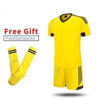 ONEDOYEE nuevos niños fútbol de los muchachos fija la ropa corta niños uniformes de fútbol de los cabritos Jersey chándal