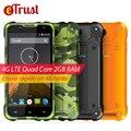 Blackview BV5000 Мобильный Телефон 5 дюймов HD MTk6735 Quad Core Android 6.0 2 ГБ RAM 16 ГБ ROM 8MP Cam Водонепроницаемый IP67 4 Г Смартфон