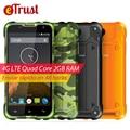 Blackview MTk6735 BV5000 Teléfono Móvil 5 pulgadas HD Quad Core Android 6.0 2 GB RAM 16 GB ROM 8MP Cámara IP67 Impermeable 4G Smartphone
