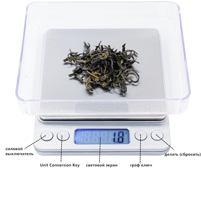 3000g 0,1g elektroninių 3kg skaitmeninių papuošalų balanso gramų - Matavimo prietaisai - Nuotrauka 5