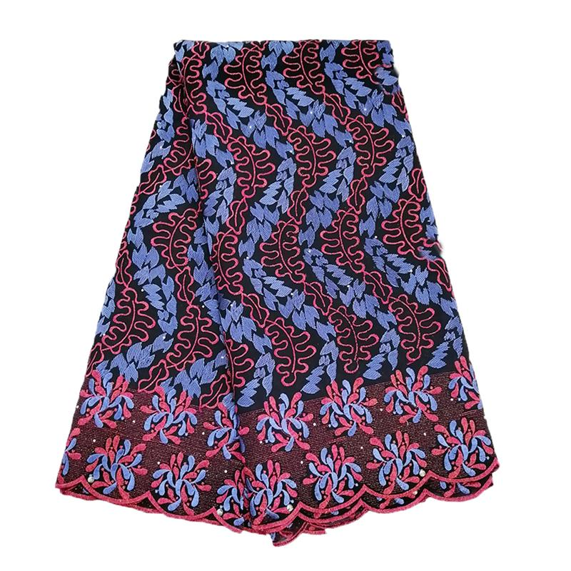 2019 Best Selling Swiss voile laces African Fabric Fushia Blue Nigerian French Fabric High Quality Nigeria Cotton Lace Fabric2019 Best Selling Swiss voile laces African Fabric Fushia Blue Nigerian French Fabric High Quality Nigeria Cotton Lace Fabric