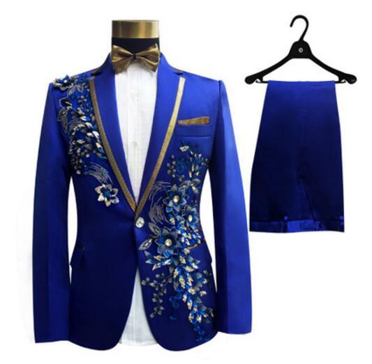 (xhaketë + pantallona + lidhëse me hark) kostum mashkull i vendosur - Veshje për meshkuj - Foto 3