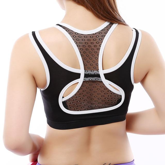 dec302135ccbe hot sale High Elastic Bamboo Fiber Sexy Women Sports Bra Running Gym  Workout Woman Yoga Clothing Yoga Shirts Vest Bra Underwear