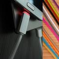 1 M Micro 8 Pin luz LED con indicador de carga USB Sync Cable Cable de datos para el iPhone SE 5 5S 6 6 S Plus Samsung galaxy LG