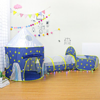 new Baby Bed Fence Plastic Home Safety Gate Products child Care Safe Foldable Playpens Game Pool of Balls for Kids Gifts