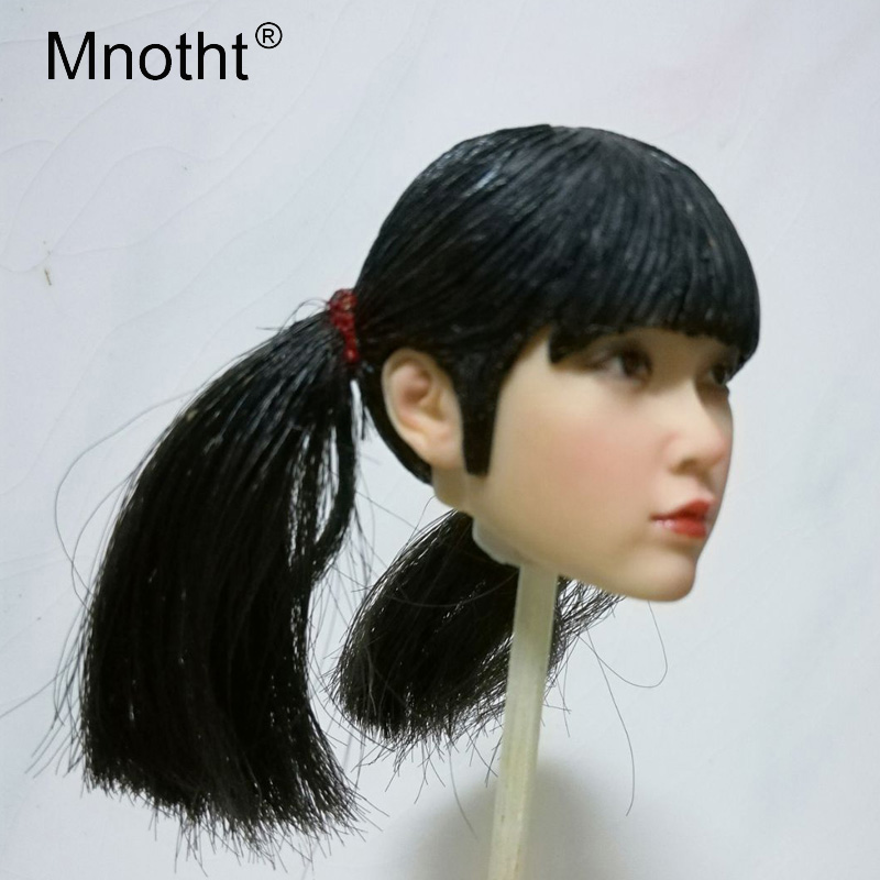 Mnotht Toy 1 6 the Republic of China Beauty Head Sculpt Model Chinese Girls Head Carving