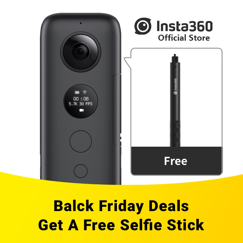 Insta360 ONE X Sport Action Kamera 5,7 karat Video VR 360 Für iPhone und Android