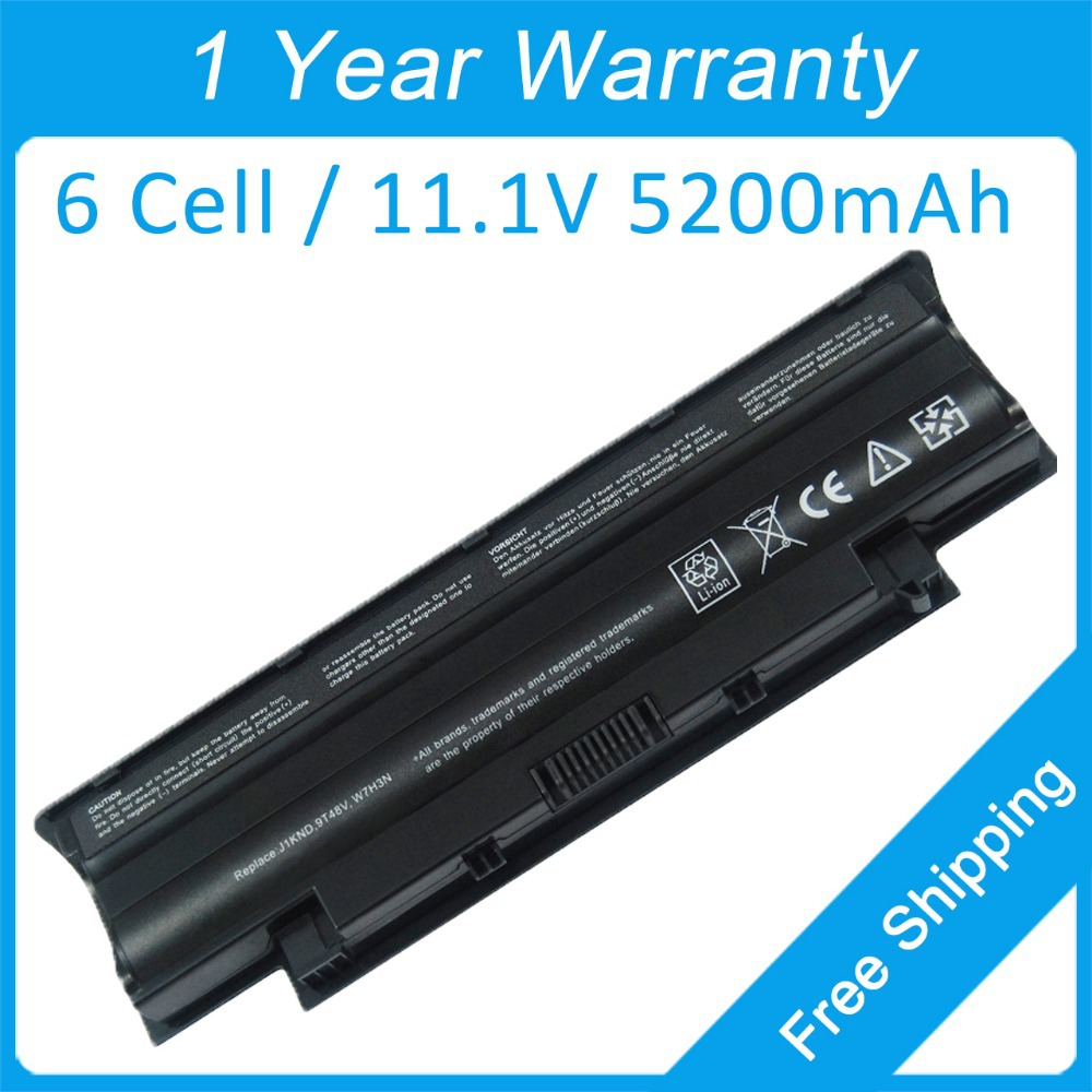 5200mah laptop battery dell Inspiron N3110 N4010 N4110 N5010 N7010 N5040 N5050 3450n 9T48V 9TCXN 9JR2H 4T7JN P07F P10S001 - shenzhen Z&Z electronic technology Co.,Ltd. store