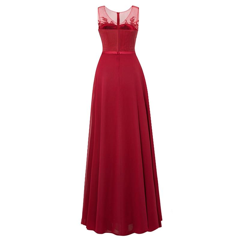 Tanpell μακρύ φόρεμα βραδιού σκουλαρίκια - Ειδικές φορέματα περίπτωσης - Φωτογραφία 6