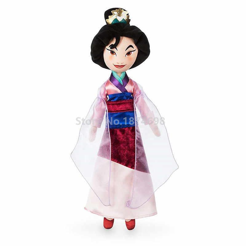 Новая принцесса Мулан плюшевые куклы 48 см мягкие куклы детские игрушки для детей Подарки для девочек