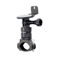 vsysto motorcycle dvr main unit bracket install on the motorcycle handle use for p6f