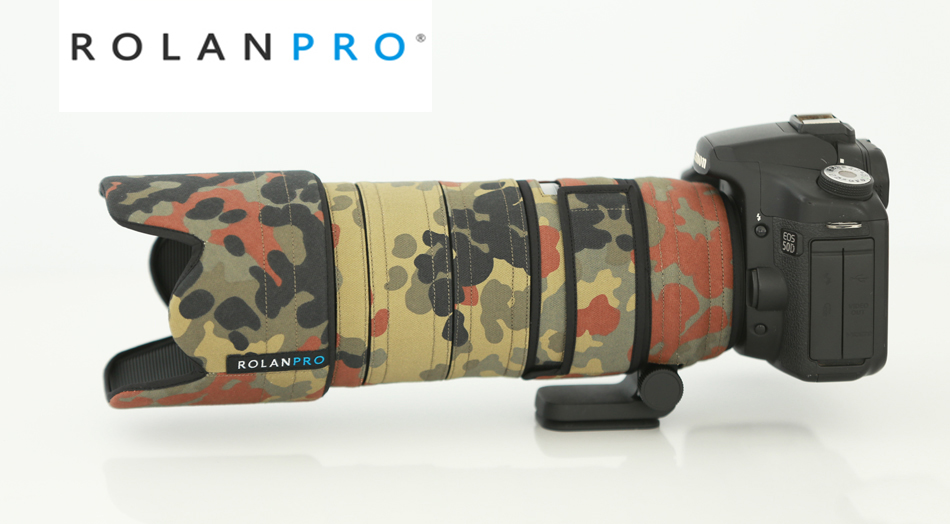 ROLANPRO Lens Coat Camouflage Rain Cover for Tamron SP 70 200mm F 2 8 DI VC