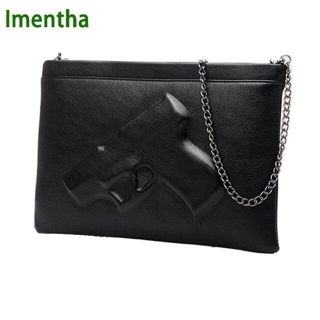 Online Shop 2017 cute black gun bag women Shoulder Bags Pistol ...