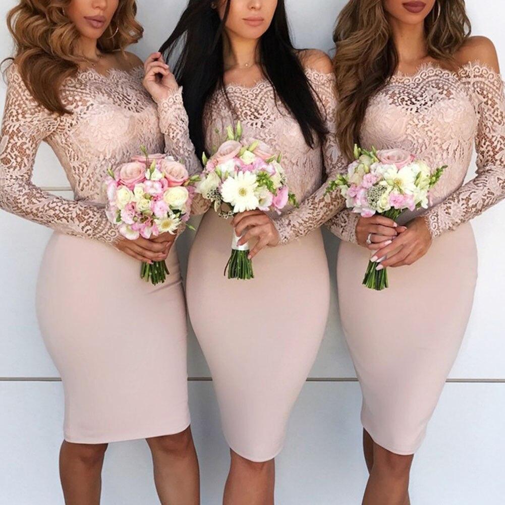 Catalogs long sleeve bodycon wedding dress