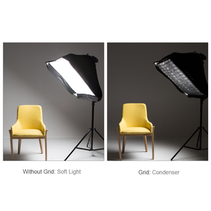 "Image 5 - Godox グリッドポータブル 60 × 60 センチ 24 ""× 24"" 写真ソフトボックス用ハニカムグリッドスタジオ Srobe フラッシュライト (グリッドのみ)"