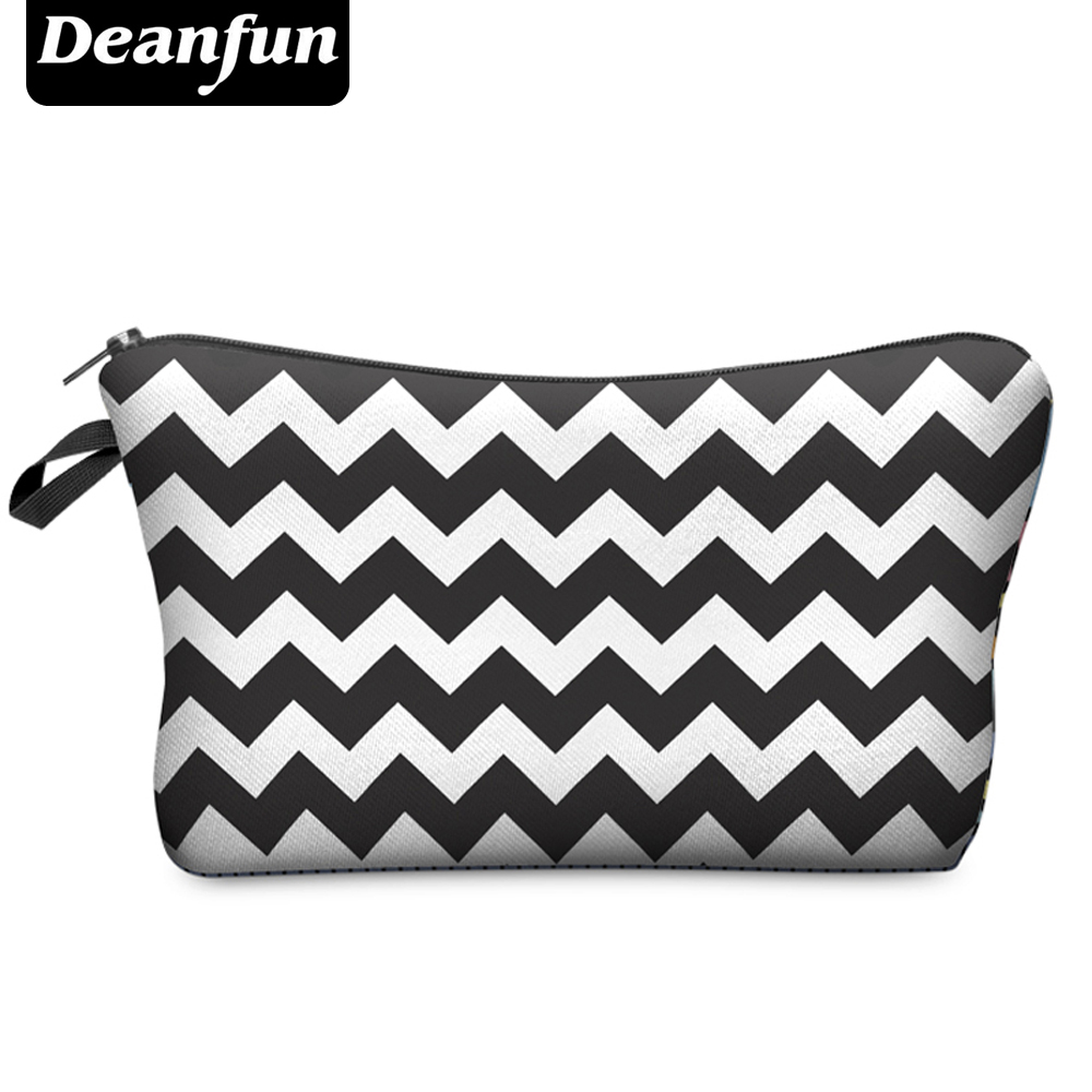Deanfun 2017 Hot-selling Small Fashion Women Brand Cosmetic Bags H49 deanfun travel cosmetic bag 2016 hot selling women brand small makeup case 3d printing christmas gift water pig h46