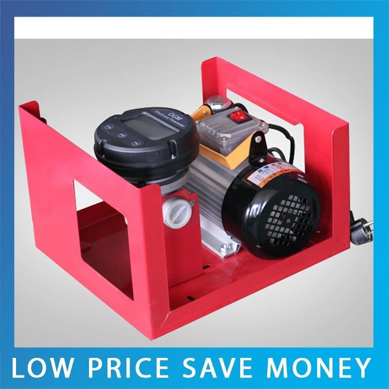 12V/24V/220V High Lift Electric Diesel Oil Pump Fuel Oil Transfer Oil Metering Pump Unit With Digital Watches glukhar v