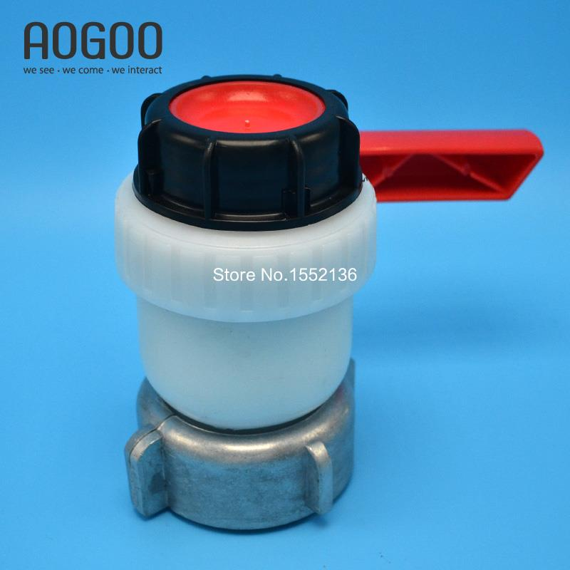 Type A 1000L Water IBC Tank Container 75mm Ball ValveType A 1000L Water IBC Tank Container 75mm Ball Valve