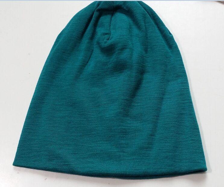 Image 3 - Men Women 100% super fine Merino wool Beanie hat running Running riding winter thermals fleece cap knit Sports Warm cosy wool-in Men's Skullies & Beanies from Apparel Accessories