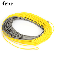 Maxcatch Real Windcutter Fly Line WF4F F WF8F F 100FT 30M Weight Forward Yellow Grey Double