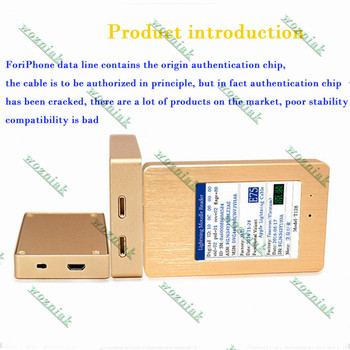 Third-generation for iphone cable tester is true and false detector Authenticity recognizer manufacturer home furnishings фото