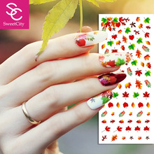Nail Art Gel Polish Water Transfer Stickers For Manicure Beauty Nail Tools Acrylic 1 Pcs