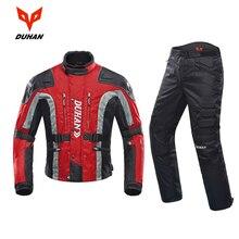 DUHAN мотоциклетные брюки мужские мото штаны для мотокросса эндуро брюки для верховой езды для мотокросса внедорожные гоночные спортивные наколенники защитные брюки