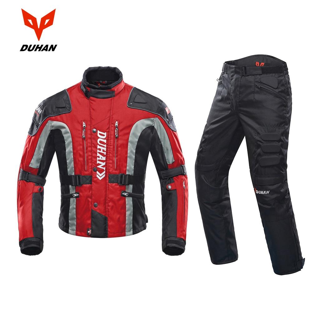 DUHAN pantalon Moto homme Moto cross pantalon Enduro pantalon equitation Motocross tout-terrain course sport genou pantalon de protection