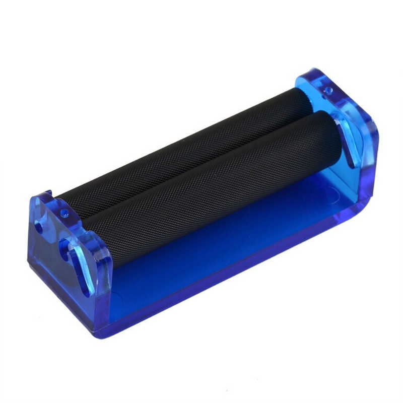 אקריליק חומר 70mm שימוש קל ידנית טבק רולר יד סיגריות להכנת רולינג מכונת כלי גברים מneccessities אב מתנות