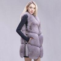 FXFURS real fur fox fur coat design ladies winter really fox fur coat detachable real fur coat wome