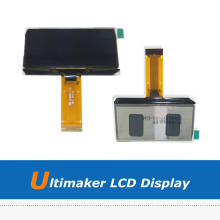 2pcs UM2 3D Printer Parts 2.42 OLED Display LCD Screen For Ultimaker 2 3D Printing Mainboard heated heat bed hotbed plate for ultimaker 2 um2 3d printer 4mm hight quality