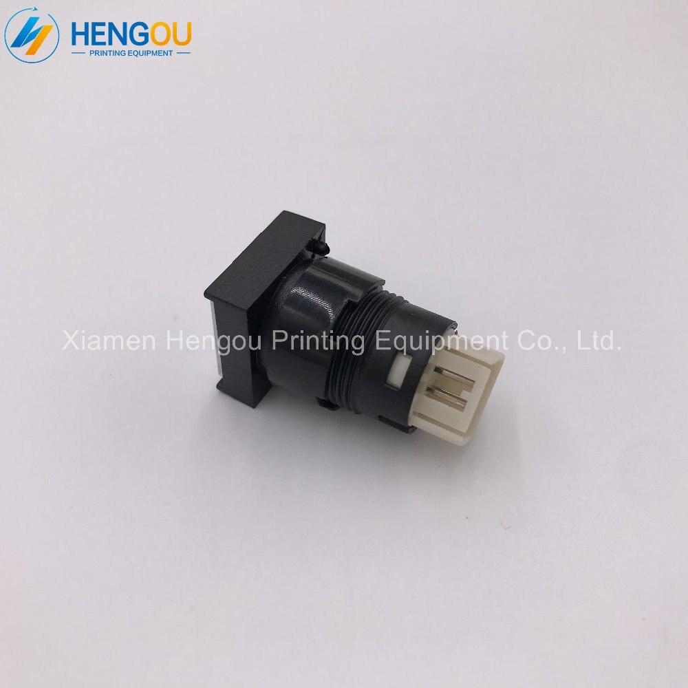 10 pieces China post free shipping 81 186 3855 02 JIAOBU SM102 cpc Illuminated push button